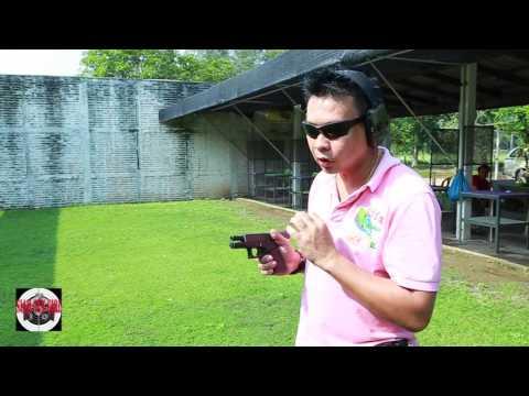 ต้วอย่าง : ทดสอบ Glock 19 Gen4 Aus ใหม่แกะกล่อง : SiamGunGirl