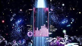 Immensely satisfying Tetris Effect clean up