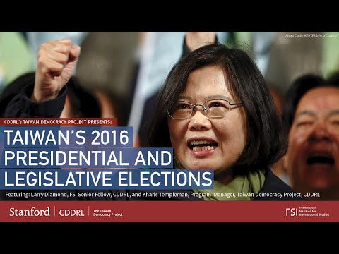 Taiwan's 2016 Presidential and Legislative Elections