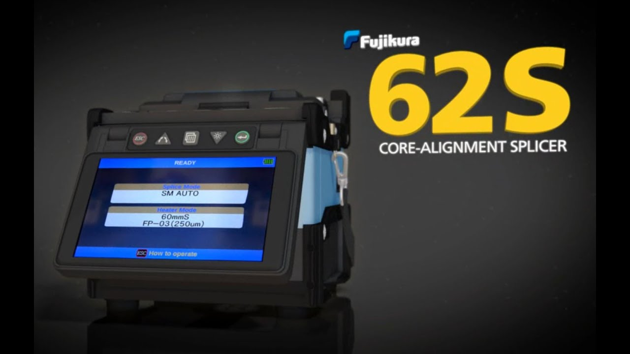 fujikura splicing machine 62s