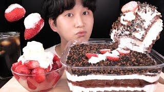 갓성비 9980원 이마트 돼지바 케이크 먹방!! BIG…