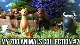 My Zoo Animals Collection RBA Pt 7: Titi Monkey Panda Stork Gnu Llama Platypus Horse Polar Bear...