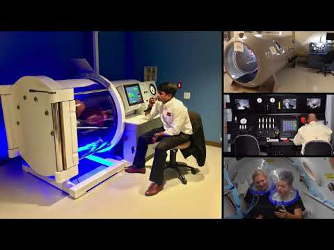 HYPERBARIC CHAMBER Display at ARAB HEALTH