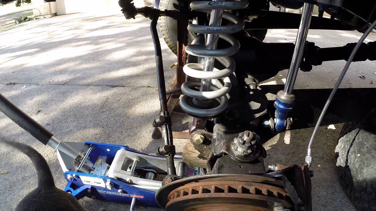 2015 Ford Bronco >> Texas Auto Gear install Solo Motorsports Bronco coilover shock mount - YouTube