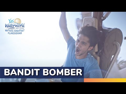 Yas Waterworld   Bandit Bomber   Region's Only Suspended Water Rollercoaster