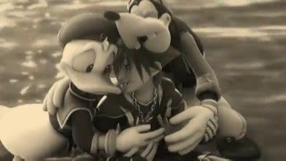 KH -- Sora, Donald Duck, Goofy -- Shoulder To Shoulder!! [HD]