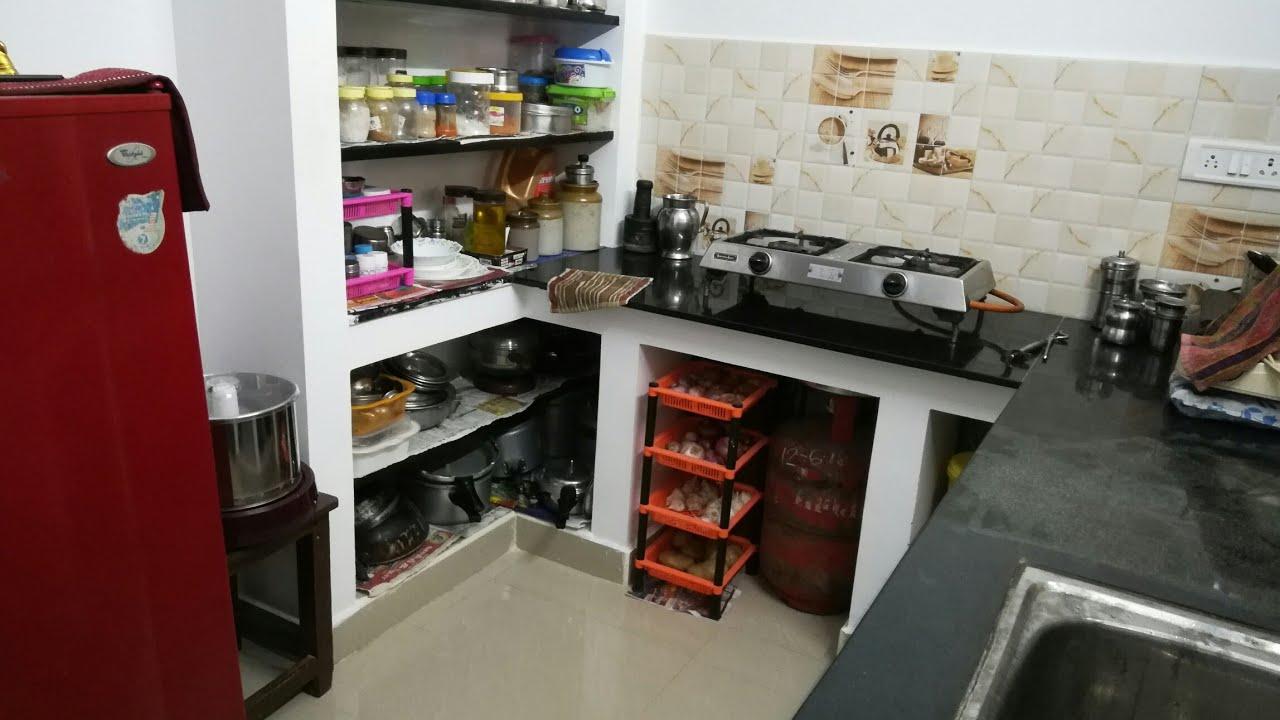 Kitchen Tour Tamil How To Organize Small Kitchen