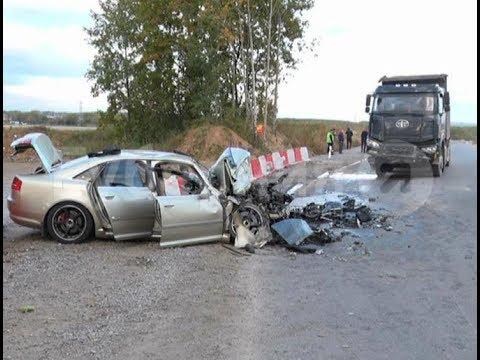 Пассажир «Ауди» погиб при столкновении с самосвалом в Хабаровском районе. Mestoprotv