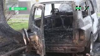 Nuevo ataque de quemacoches en Altos de San Lorenzo