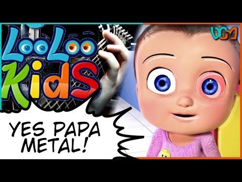 Johny Johnny, Yes Papa Nursery RhyMEME (InstruMetal LooLoo Kids) // Dacian Grada ReMix