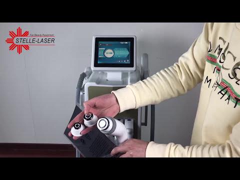 2018 New design DPL4 4 handpiece multifunctional beauty machine-Beijing Stelle Laser