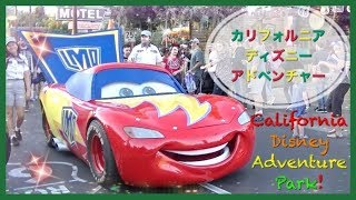 バイリンキッズーVisiting Disney California Adventure Park. Play and...