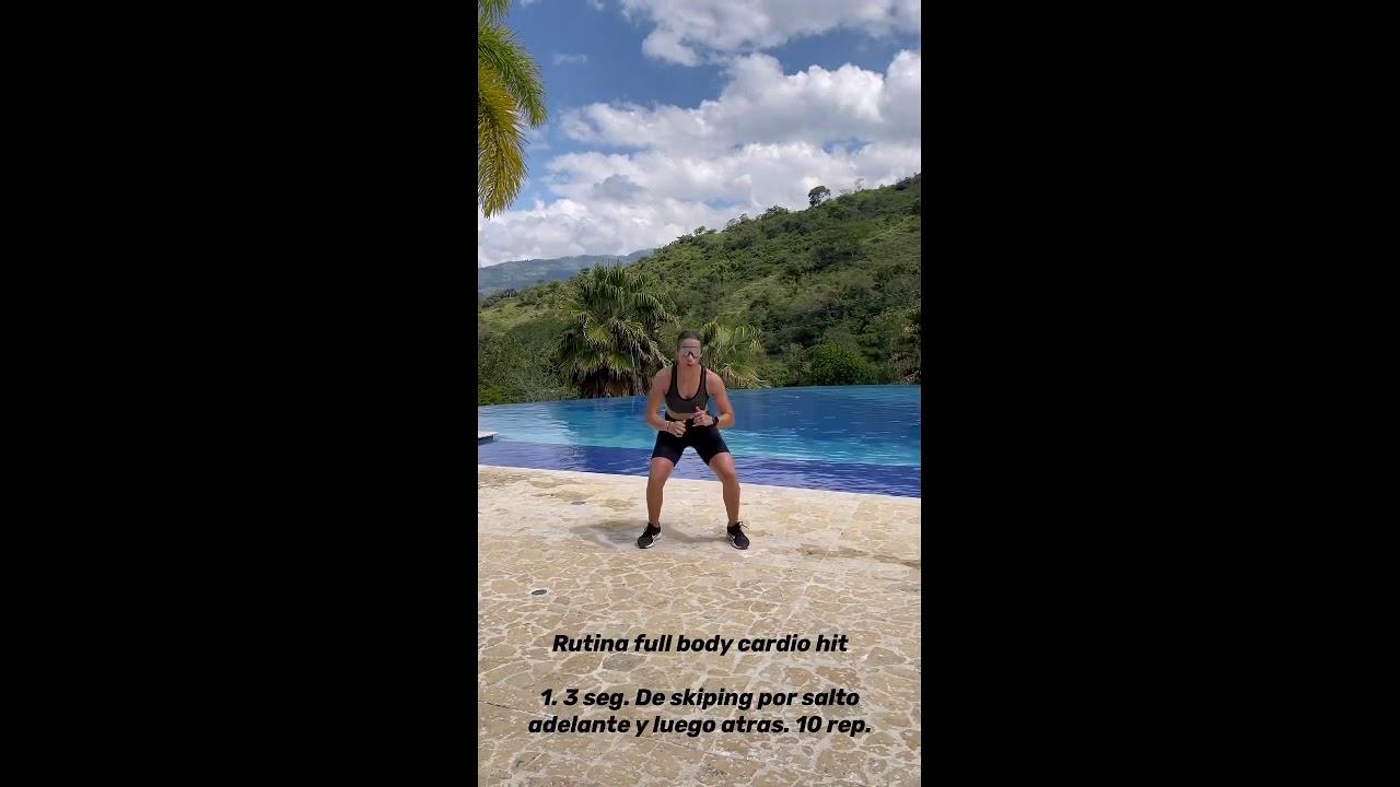 Full body cardio hit Dance Fitness