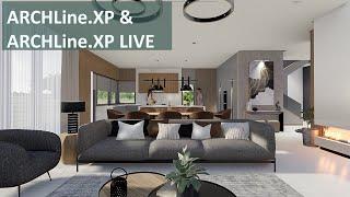 ARCHLine.XP LIVE – Tutorial & Workflow