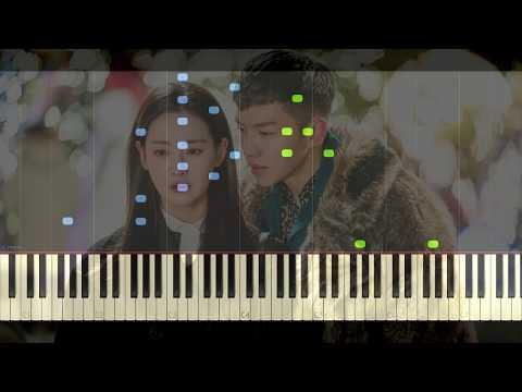 BUMKEY - When I Saw You - A Korean Odyssey OST Part 2 | Piano Tutorial (Synthesia)
