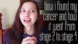 How I Found My Cancer And How It Went From Stage 2 to Stage 4 |  Hodgkin's lymphoma
