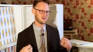 Designer Bobby Berk tells what inspired wallpaper line