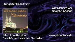 Stuttgarter Liederkranz - Wie