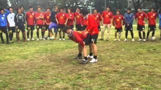 立教サッカー愛好会2011  「ガソリンスタンド 」