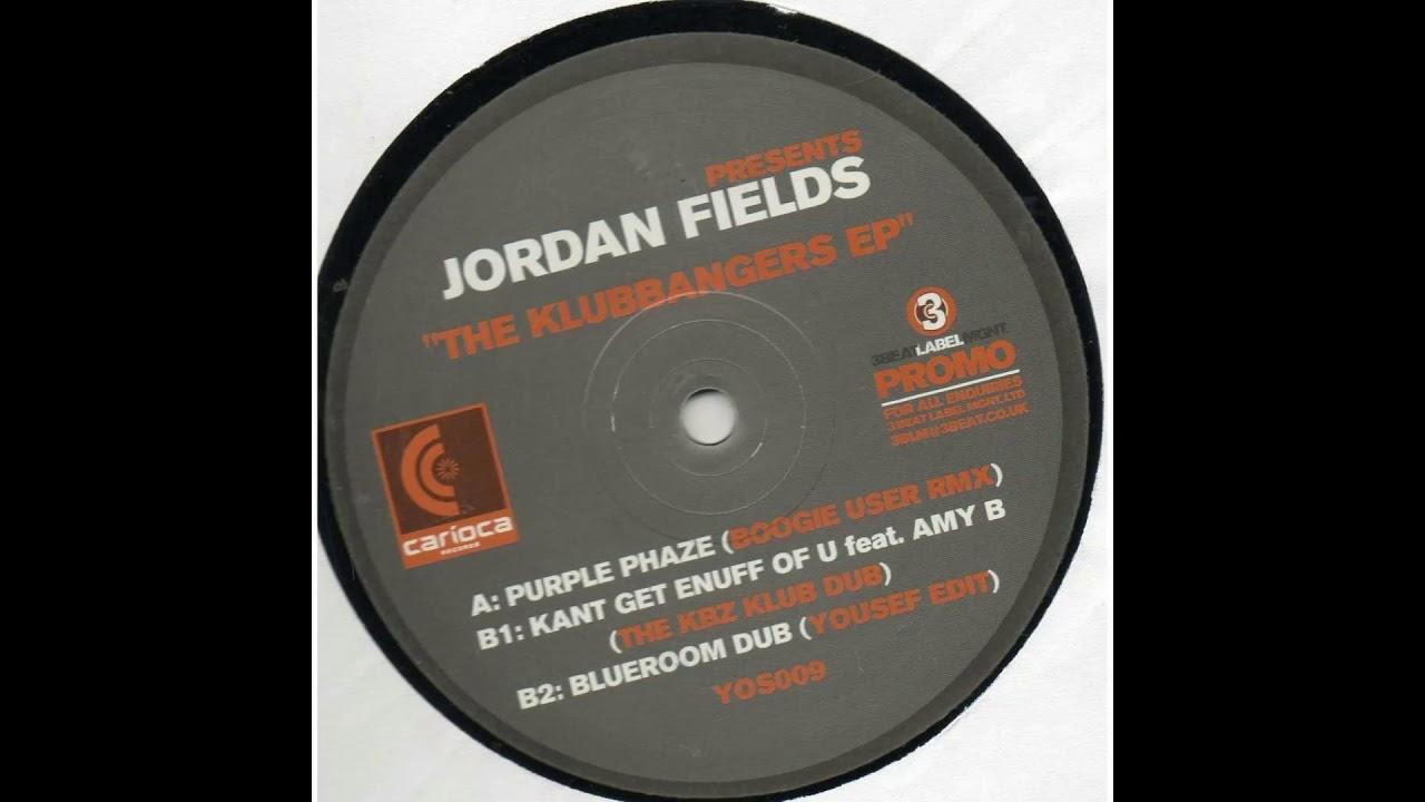 Jordan Fields - Kant Get Enough Of U (The KBZ Club Dub)