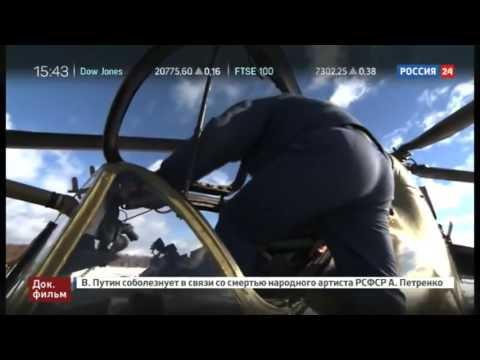Combat work of Russian helicopters in Syria
