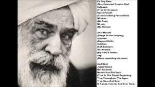 Mul Mantra (w/ Lyrics & Meaning) ft Sant Kirpal Singh Ji Maharaj