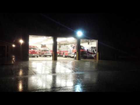 Postville FD Tanker Responding To Structure Fire