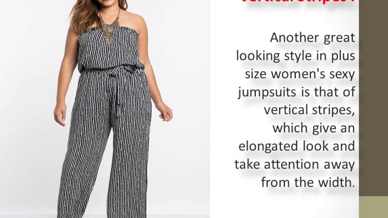 Plus Size Women Jumpsuit Elegant Casual Jumpsuits V Neck