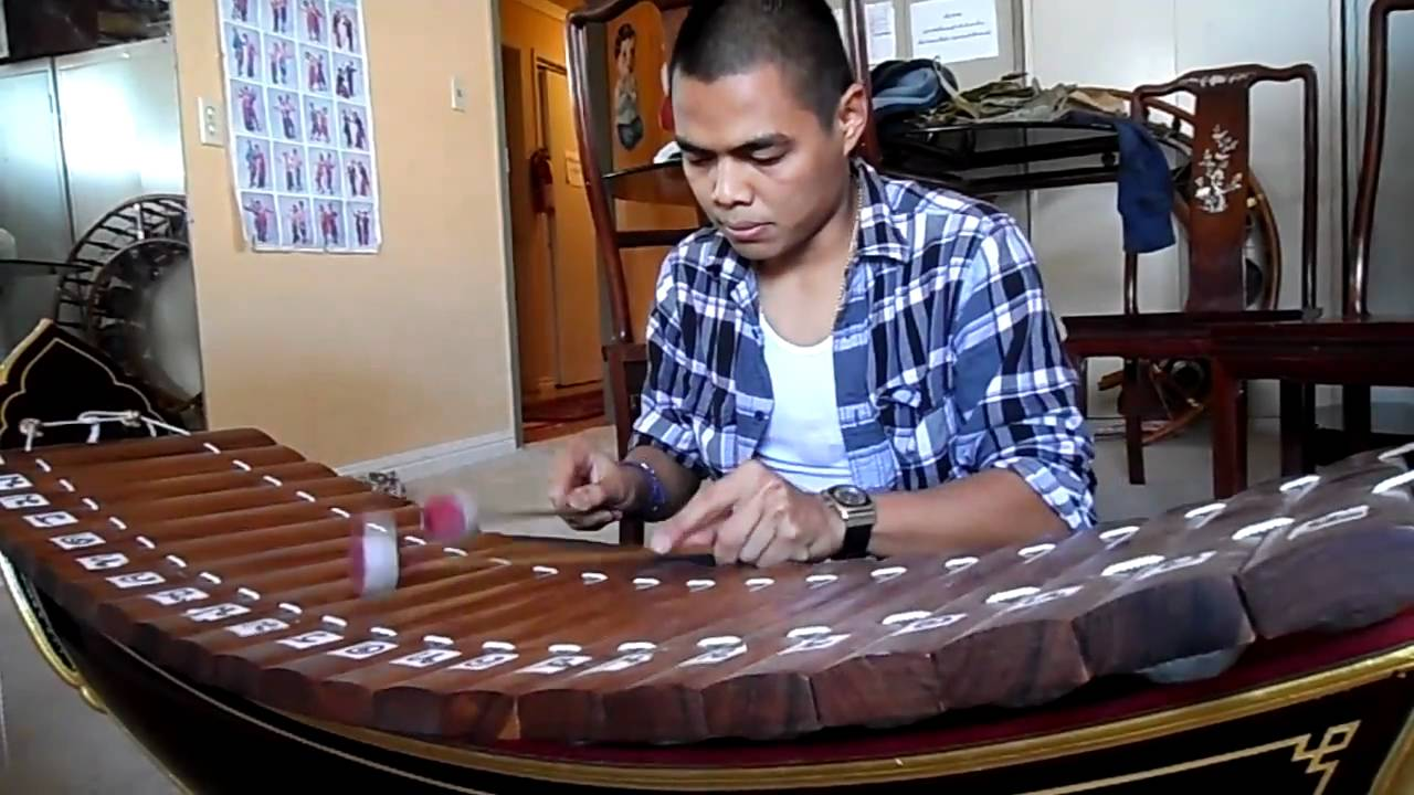 traditional south east asian musical instrument: ranard - youtube