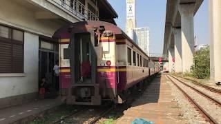 タイ国鉄 マッカサン駅 旧型客車