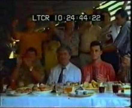 Radovan Karadzic and Mother