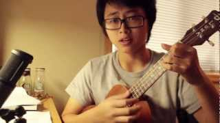 """Can't Help Falling In Love"" Ukulele Cover"