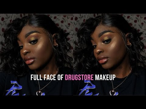 Full Face of AFFORDABLE Makeup   Bronze Halo Eyeshadow Tutorial   prefnax thumbnail