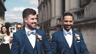 Old Royal Naval College Same Sex Wedding - A Highlight Wedding Video by Confetti & Silk