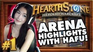 Hafu Highlights - Road To 12 Wins #1 Hearthstone Arena