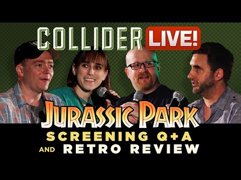 Jurassic Park Screening Q&A and Retro Review - Collider Live