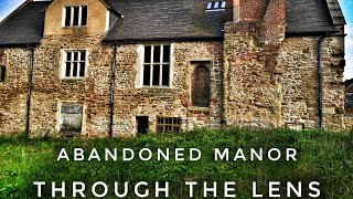 Abandoned manor house. Quite a tidy place!