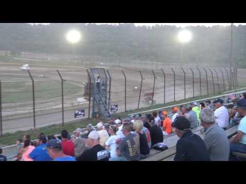 Brushcreek Motorsports Complex | 6.10.17 | Ohio Valley Sprint Car Association | Heat 2