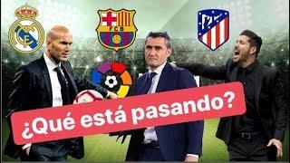 ¿Seguirá Zidane? ¿Cuánto mejoró el Barcelona? ¿El Atleti? Nueve jornadas ya de liga.