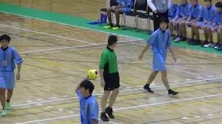 20191214福岡県高校新人ハンドボール(男子)2回戦 光陵vs九州(前半)