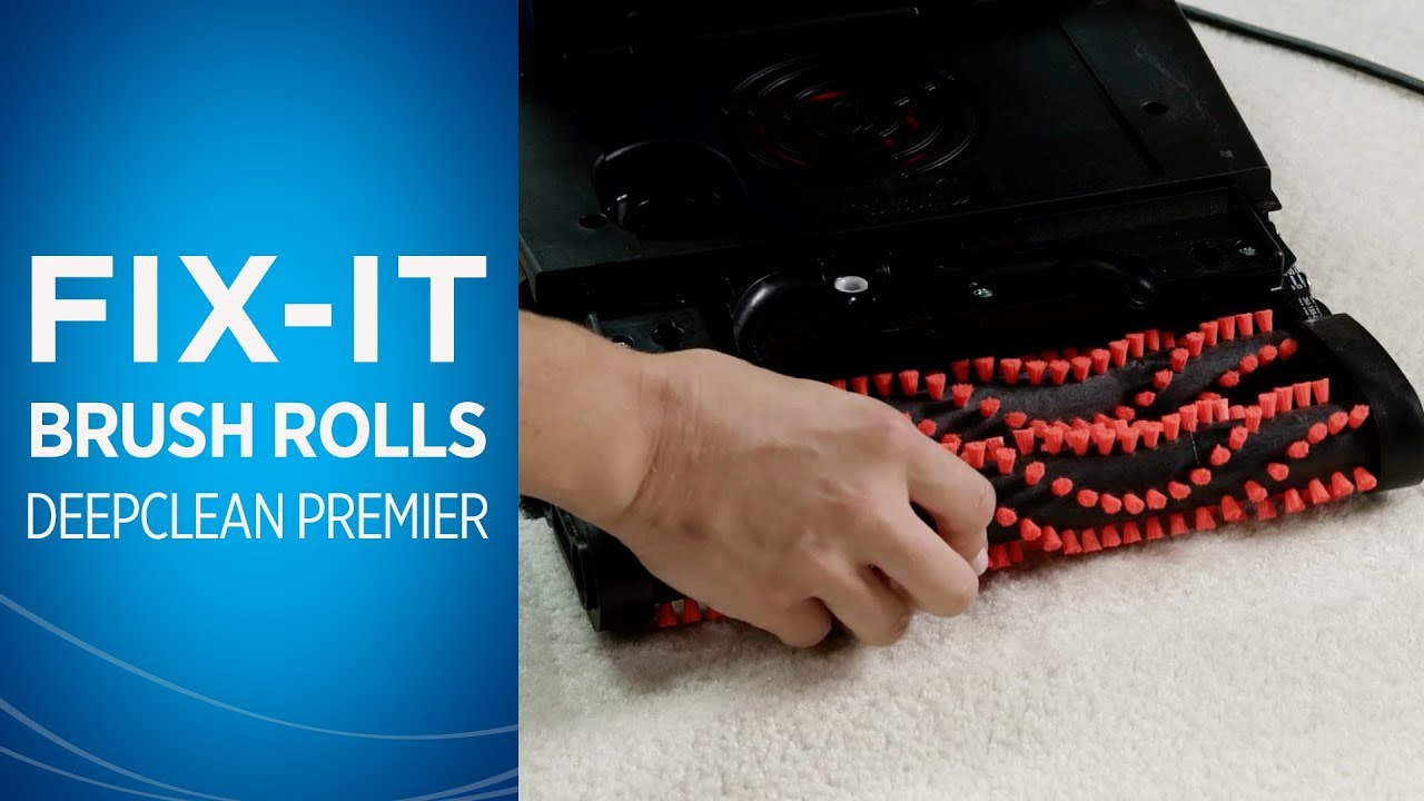 How To Maintain The Brush Rolls On Your Deepclean Premier Youtube Bissell Proheat 2x Parts Diagram Car Interior Design
