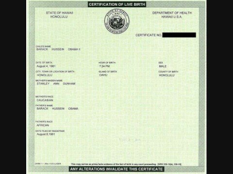 MCCAIN IS A FRAUD-HE'S NOT WHITE AMERICAN OR US BORN CITIZEN