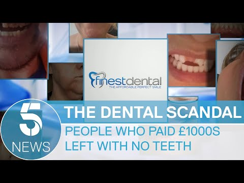 Dental firm's collapse leaves patients in pain and out of po