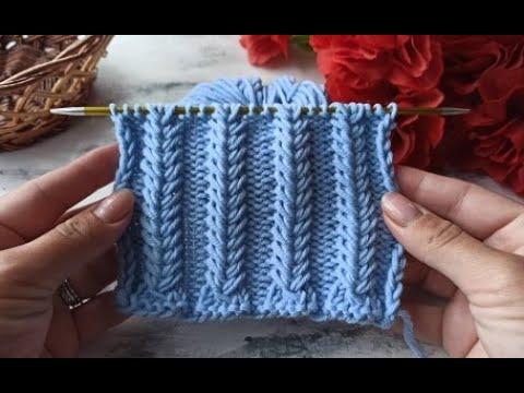 Вязание спицами узоры для шапок объемные