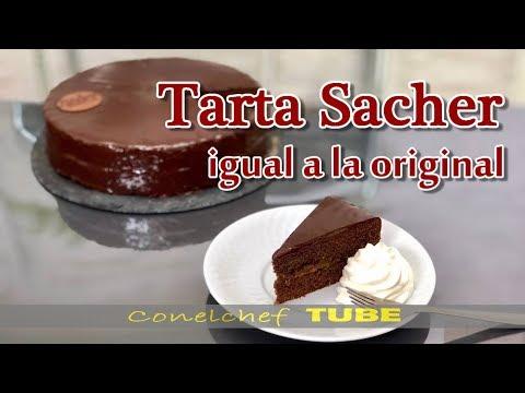Tarta Sacher- Receta original vienesa