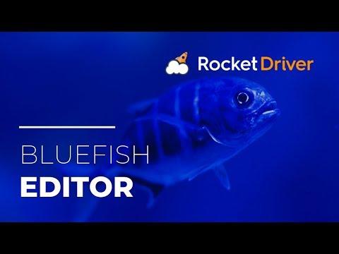 Bluefish Editor - (Integrated Development Environment)