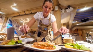 Russian Fishing Restaurant - Amazing Catch and Cook!! | Saint Petersburg, Russia!