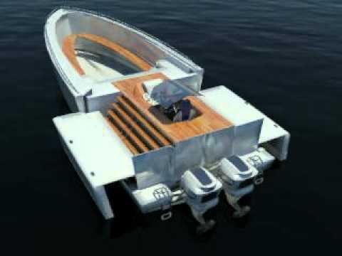 Infografía diseño naval industrial