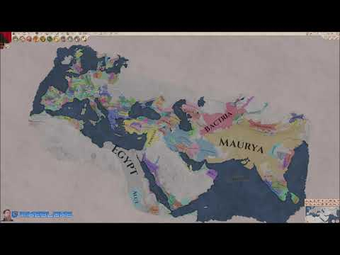 Imperator Rome Timelapse v1.1.1 Pompey Full Map |