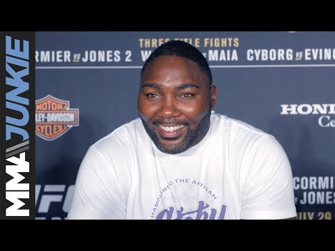 Anthony Johnson backstage at UFC 214 - full interview